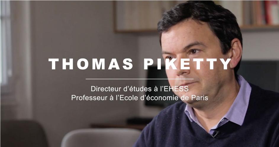 Interview de Thomas Piketty lors de la conférence du CASD