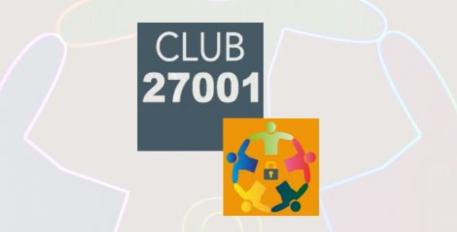 Club 27001 : Conférence annuelle le 4 novembre