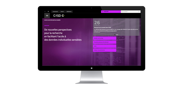 Welcome to the new CASD website