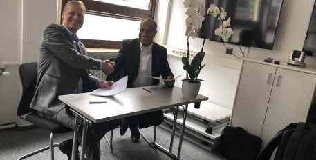 Signing of a cooperation agreement between CASD and CBS, the Dutch National Statistical Institute