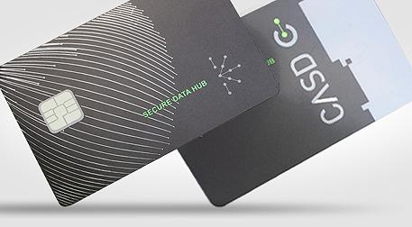 New biometric card