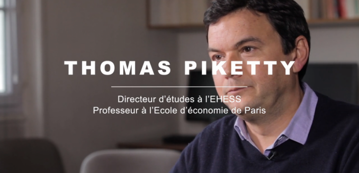 Thomas PIKETTY interwed during CASD conference