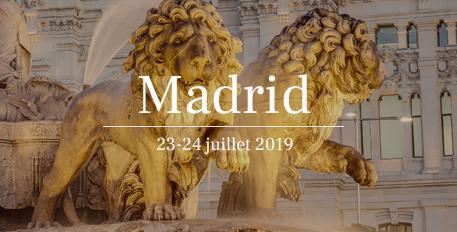 Présentation du CASD à Madrid les 23-24 juillet 2019